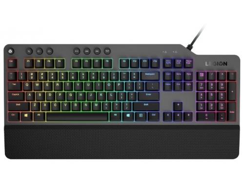 Клавиатура Lenovo Legion K500 RGB GY40T26479 USB, черная, вид 3