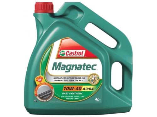 Масло моторное автомобильное Castrol Magnatec 10w40 156EED, синтетическое, вид 1