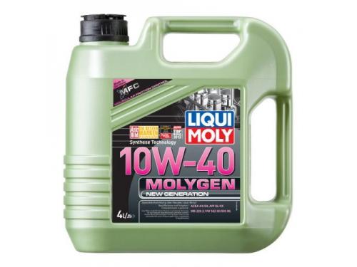 Масло моторное автомобильное LIQUI MOLY Molygen New Generation 10W-40, 4л, вид 1