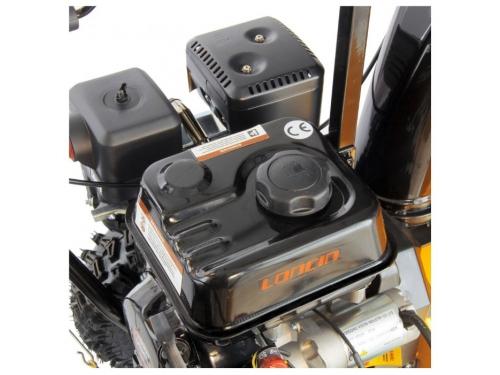 Снегоуборщик DENZEL SB 650 E 97602 бензиновый, вид 4
