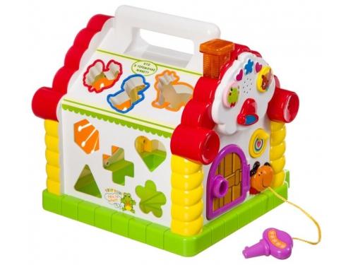 Развивающая игра Play Smart Расти малыш Теремок (сортер), вид 2