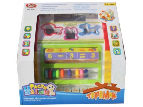 Развивающая игра Play Smart Расти малыш Теремок (сортер), вид 5