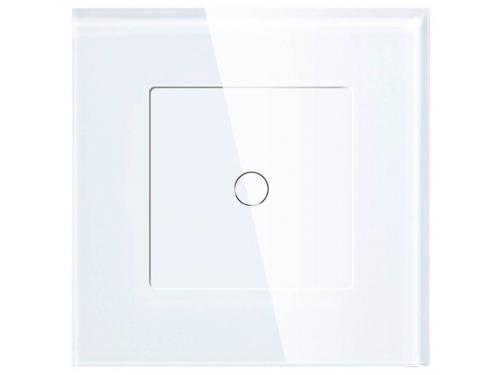 Товар для умного дома Умный Wi-Fi выключатель HIPER IoT Switch T01G, 1 линия, белый, вид 1