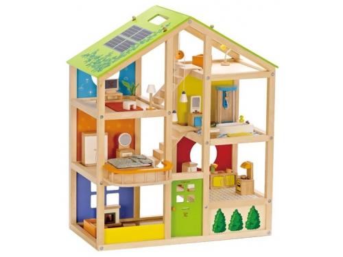 Аксессуар для кукол HAPE E3401_HP Дом для мини-кукол, вид 1