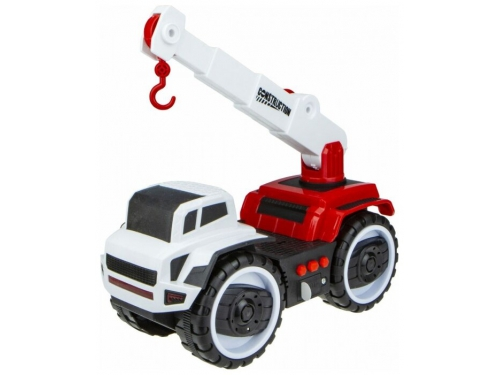 Игрушки для мальчиков Автокран 1 TOY Горстрой (Т16943) 20 см, вид 1
