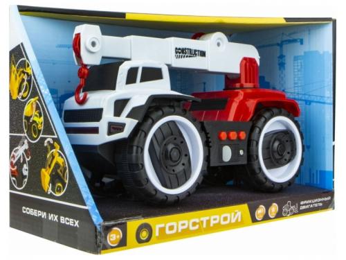Игрушки для мальчиков Автокран 1 TOY Горстрой (Т16943) 20 см, вид 3