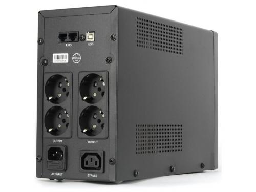 Источник бесперебойного питания CROWN MICRO CMU-SP1500EURO USB 1500VA\900W, вид 2