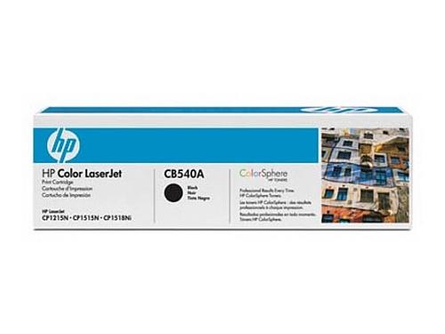 Картридж для принтера HP CB540A, черный, вид 1