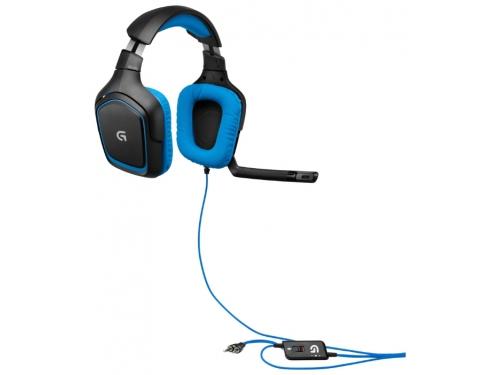 Гарнитура для ПК Logitech G430 Surround Sound Gaming Headset, вид 1