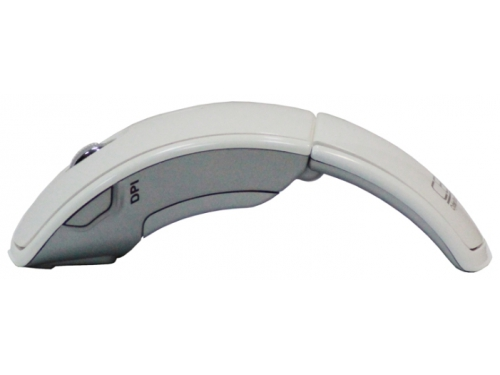 Мышка CBR CM 610 White USB (радиоканал, 1600 dpi, складная), вид 3