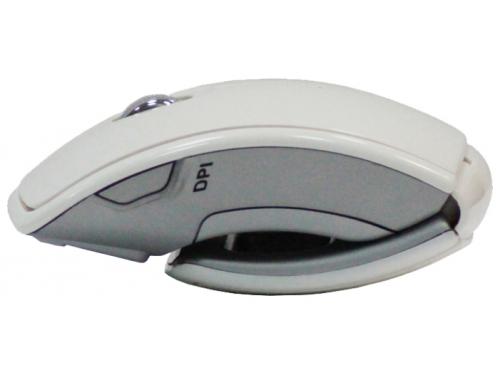 Мышка CBR CM 610 White USB (радиоканал, 1600 dpi, складная), вид 4