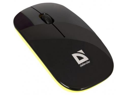 Мышка Defender NetSprinter 440 BO Black-Orange USB, вид 1