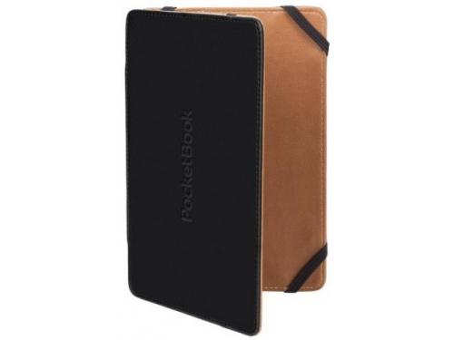 Чехол для ebook PocketBook для 515, чёрно-бежевая, вид 1