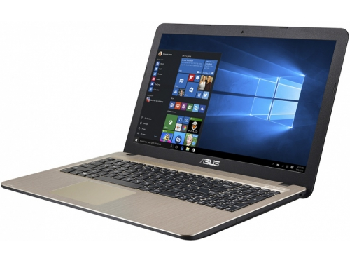 Ноутбук ASUS X540SA-XX236T,   Black 15.6 HD Cel N3050/4Gb/1000Gb/Win10, вид 1