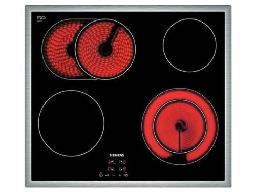 Варочная поверхность Siemens ET645HN17E, чёрная, вид 1