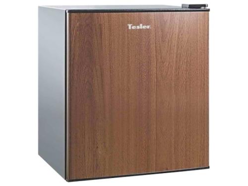 Холодильник Tesler RC-55 Wooden, деревянный, вид 1