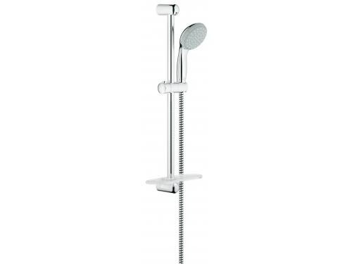 Душевой гарнитур Grohe 27926000 Tempesta Classic (ручной душ, штанга 600 мм, шланг 1750 мм), хром, вид 1