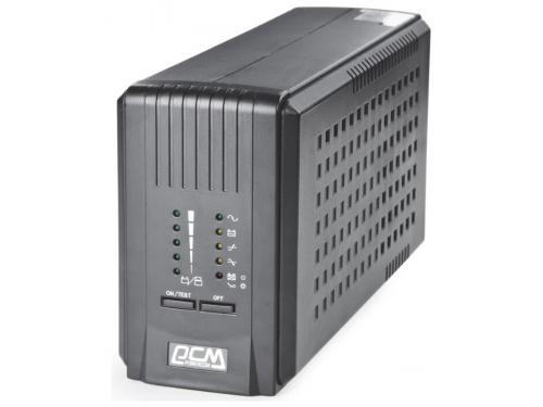 Источник бесперебойного питания Powercom Smart King Pro (SPT-700-II) черный, вид 1