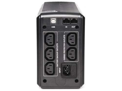 Источник бесперебойного питания Powercom Smart King Pro (SPT-700-II) черный, вид 2