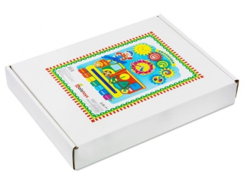 Игрушка для малыша Бизиборд Alatoys Солнышко, вид 5