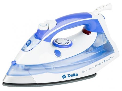 Утюг Delta DL-711, белый с фиолетовым, вид 1