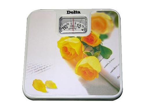 Напольные весы DELTA D-9011-Н12, желтые розы, вид 1