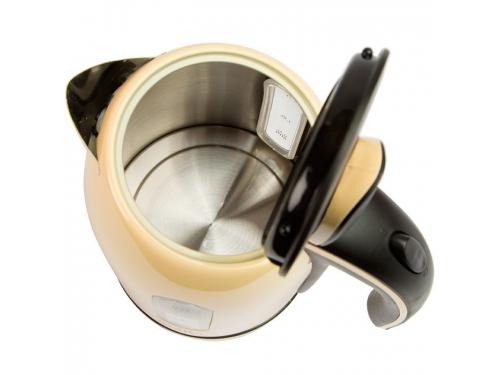 Чайник электрический Delta DL-1006, бежевый, вид 2