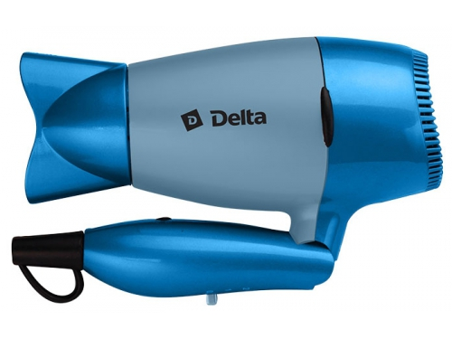 Фен / прибор для укладки Delta DL-0922, голубой, вид 1