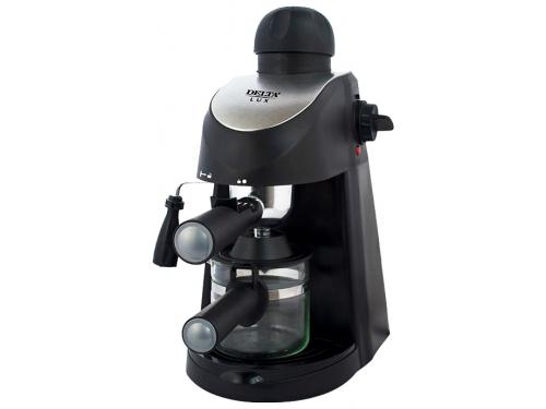 Кофеварка DELTA LUX DL-8150К черная, вид 1