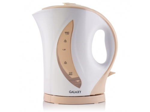 Чайник электрический Galaxy GL0107, бежевый, вид 1