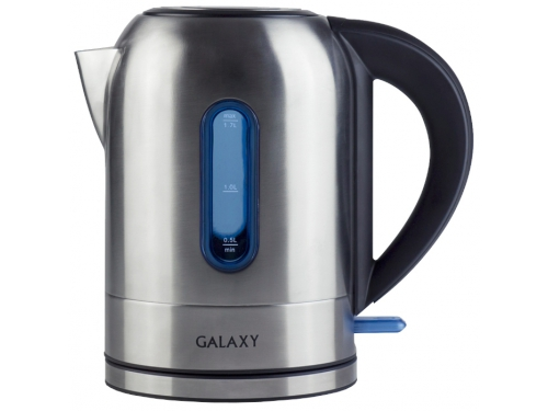 Чайник электрический Galaxy GL 0315, металл, вид 1