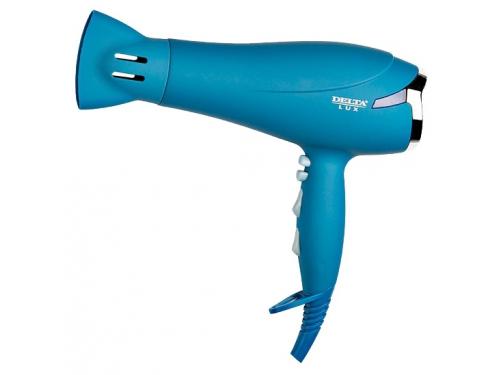Фен / прибор для укладки Delta LUX DL-0920 синий, вид 1