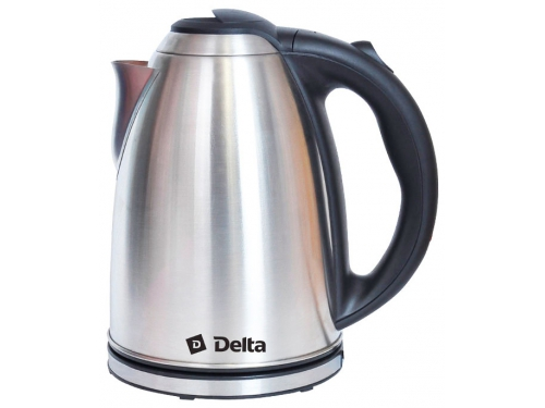 Чайник электрический Delta DL-1032, металл, вид 1