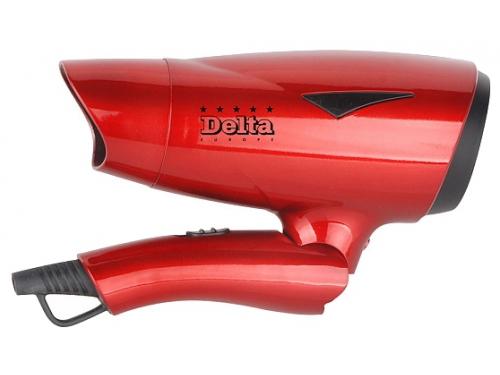 Фен / прибор для укладки Delta DL-0902 красный, вид 2