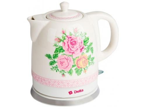 Чайник электрический Delta DL-1328 (керамический), вид 1