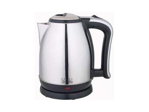 Чайник электрический Delta DL-1213/M, металл, вид 1