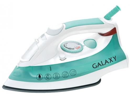 Утюг Galaxy GL 6104, бело-зеленый, вид 1