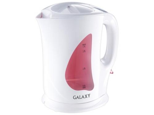 Чайник электрический Galaxy GL 0106, белый, вид 1