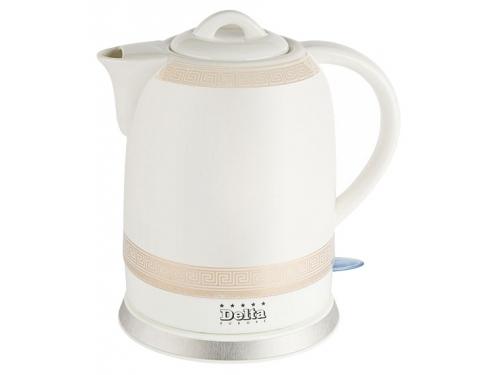 Чайник электрический Delta  DL-1233G,  с орнаментом, вид 1