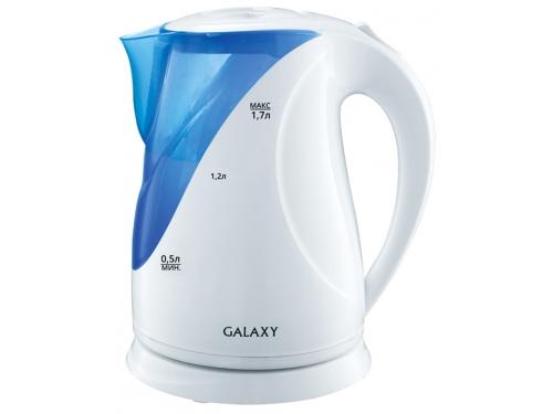 Чайник электрический Galaxy GL0202, голубой, вид 1