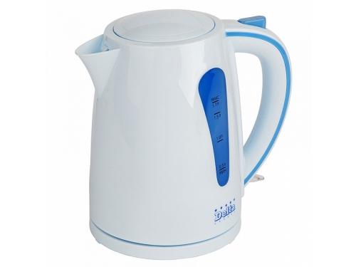 Чайник электрический Delta  DL-1054, голубой, вид 1