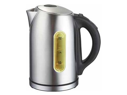 Чайник электрический Delta  LUX DL-1007 нержавеющая сталь/серебристый, вид 1
