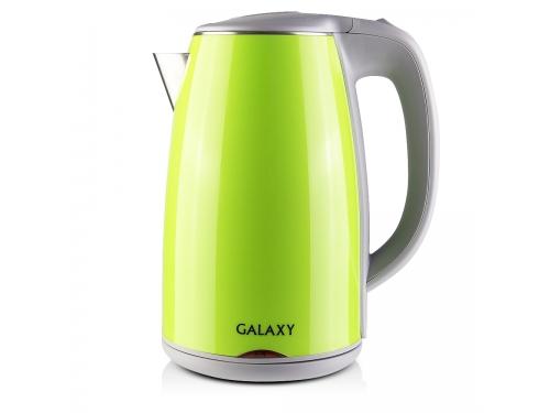 Чайник электрический Galaxy GL 0307, зелёный, вид 1