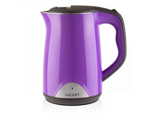 Чайник электрический Galaxy GL0301, фиолетовый, вид 1
