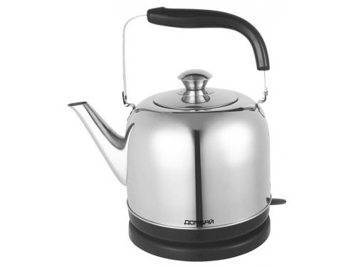 Чайник электрический Домбай-1 нержавеющая сталь, вид 1