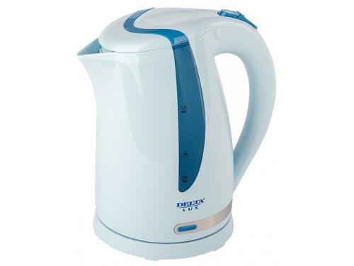 Чайник электрический Delta  DL-1016 голубой, вид 1