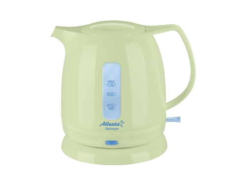Чайник электрический Atlanta АTH-616 зелёный, вид 1