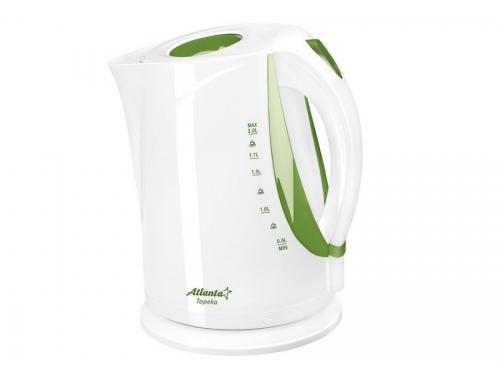 Чайник электрический Atlanta ATH-2373, зеленый, вид 1