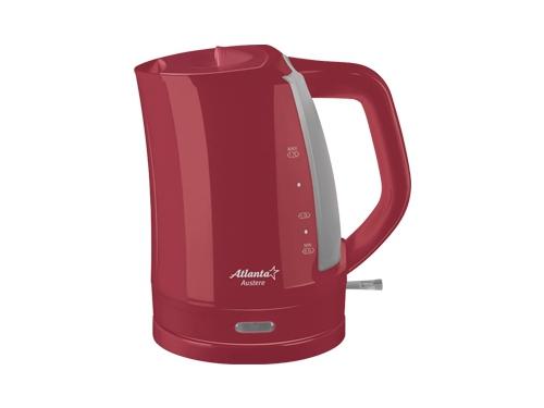 Чайник электрический Atlanta ATH-617 красный, вид 1