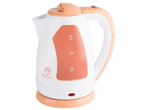 Чайник электрический Василиса Т2-1500, белый с бежевым, вид 1